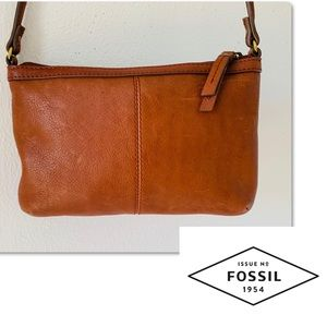 Fossil Bags - FOSSIL LEATHER SHOULDER BAG